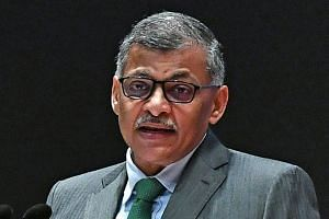 """In his speech, Chief Justice Sundaresh Menon warned lawyers of the """"spectre of technological unemployment""""."""