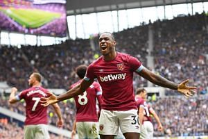 Michail Antonio fired West Ham to a surprise 1-0 victory over Tottenham Hotspur.