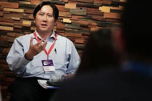 Enterprise Singapore assistant chief executive Edwin Chow speaking about Singapore's startup landscape.