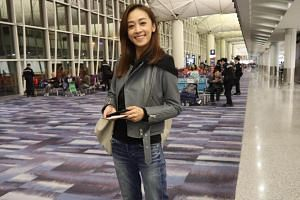 Scarlett Wong (pictured) was slammed over her posting of a photo that showed clear, blue skies, indicating her optimism for a new, brighter future for her sister Jacqueline.