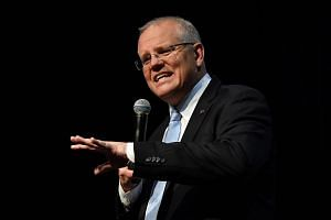 Australian Prime Minister Scott Morrison is vowing to implement a swath of income-tax cuts should his coalition win a third term, and has emphasised its reputation for providing sound economic management.