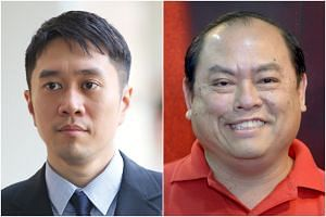 Jolovan Wham (left) and opposition politician John Tan Liang Joo were also ordered to pay about $7,298 and $6,966 respectively, in legal costs and disbursements to the Attorney-General's Chambers.