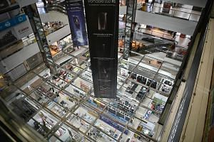 Sim Lim Square's 423 owners stand to receive between $488,000 and $67.5 million each if the sale is successful, said marketing agent SLP Scotia. ST PHOTO: ARIFFIN JAMAR