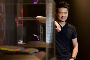 Tan Min-Liang, co-founder, CEO and creative director of gaming hardware company, Razer Inc. Much excitement was generated when Mr Tan announced Razer would match the Malaysian government's RM10 million investment into the country's e-sports.