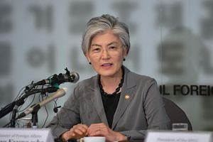 "South Korean Foreign Minister Kang Kyung-wha said that her country remains optimistic that Pyongyang will ""at some point"" return to dialogue with the US."