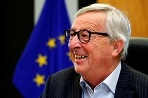 The meeting would give leaders a chance to discuss their preferences for who will succeed Jean-Claude Juncker (above) as president of the European Commission.