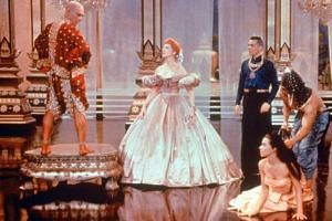 Hollywood musical The King And I (1956) starring Yul Brynner (left) and Deborah Kerr (centre). The film is banned in Thailand because its depiction of King Mongkut - the current king's great-great grandfather - is deemed disrespectful and false.