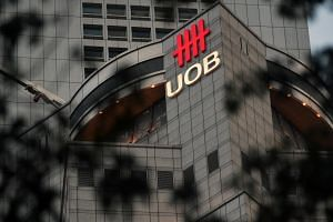 UOB shares closed up 0.07 per cent, or two Singapore cents, at $27.85 on Thursday.