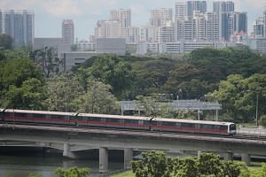 The Land Transport Authority said that the MRT network on the whole clocked 786,000 train-km between delays in the first three months of this year, an improvement from 690,000 train-km for the whole of 2018, and puts Singapore on a par with reliabili