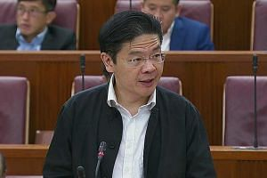 Second Minister for Finance Lawrence Wong said the changes set out the purposes for which money in this new fund can be used.