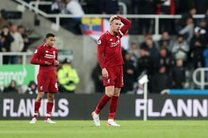 Jordan Henderson (above) said that Liverpool will watch the  Premier League clash between Manchester City and Leicester City praying for a miracle that might give them an edge in the title race.