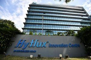 Hyflux is racing to nail down a $400 million rescue deal with Utico, the largest utilities provider in the United Arab Emirates.