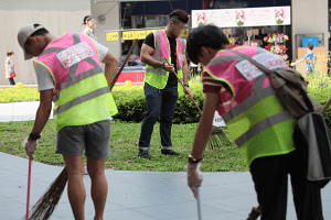 The NEA has also revamped the vests for littering offenders served with Corrective Work Orders to an eye-catching luminous pink and yellow combo. The number of CWOs issued rose from about 2,000 cases in 2017 to about 2,600 last year.