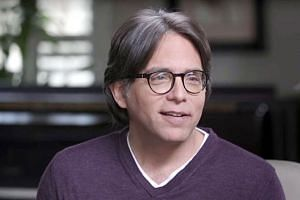 Keith Raniere faces charges including sex trafficking and conspiracy. If convicted, he could face life in prison. He has pleaded not guilty to all charges. PHOTO: KEITH RANIERE CONVERSATIONS/ YOUTUBE