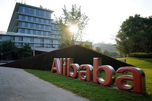 Alibaba's headquarters in Hangzhou, in China's Zhejiang province. An analyst pointed out that the firm was able to set up a cloud company in the US by just undertaking the normal business registration procedures, while America's Apple was forced to p