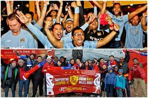 Local fans of Manchester City and Liverpool are getting hyped up as the end of the Premier League season approaches.