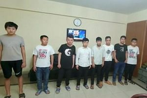 On Monday, the Federal Investigation Agency announced that it had arrested 12 suspected members of a prostitution ring trafficking young Pakistani women to China.