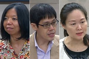 Nominated MPs (from left) Anthea Ong, Walter Theseira and Irene Quay had concerns about the fake news Bill.