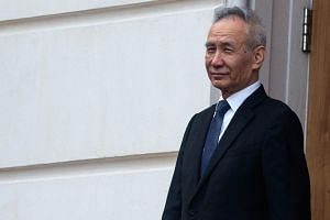 Chinese Vice-Premier Liu He leaves the Office of the United States Trade Representative after tariff negotiations in Washington DC on May 9.