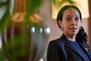 """An adventurous soul, Miss Girma loves to surf and do the salsa. She also rides horses and has fun on the paddle board. Miss Haben Girma, disability rights lawyer and champion of inclusive technology, says her story is not the exception. """"There are lo"""