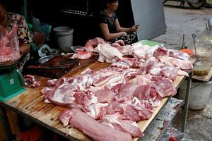 Pork accounts for three-quarters of total meat consumption in Vietnam, a country where most of its 30 million farm-raised pigs are consumed domestically.