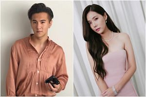 The messages between Mediacorp stars Ian Fang and Carrie Wong included language that suggested a relationship of a physical nature between the two.