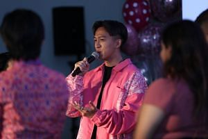 """I agreed to become one of the ambassadors for Pink Dot 11 because I believe in equality and love for all,"" said Tosh Zhang."