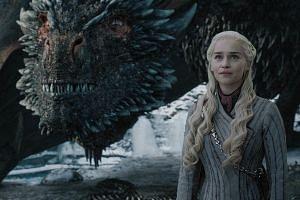 Game Of Thrones stars Emilia Clarke as Daenerys Targaryen.