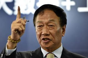 "Foxconn founder and chairman Terry Gou, who announced that he would run for Taiwan presidency, had said that the one-China principle of the 1992 Consensus should be based on ""respective interpretations""."