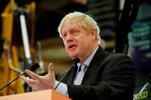 Britain's former foreign minister Boris Johnson is a prominent campaigner to leave the European Union.