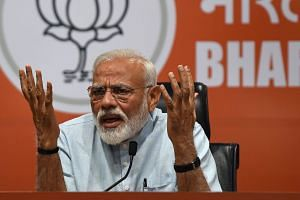 Analysts predict Indian Prime Minister Narendra Modi's party will lose seats this time and could need a coalition to form a new government.