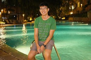 Mr Nicholas Chan frequently played truant when he was a student at Bishan Park Secondary School and eventually quit studies there.