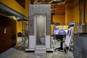 The technology could potentially help firms build prefabricated bathroom units that are 30 per cent lighter than current models using one-third less time.