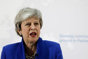 The speculation over Mrs May's future intensified after she made a desperate final gamble to get her Brexit deal through the British Parliament before she's thrown out of office.