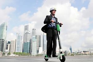 Lime's chief operating officer Joe Kraus (above) is confident that e-scooters will become an integral mode of transport in the future as cities become increasingly urbanised.