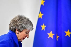Britain's Prime Minister Theresa May has so far fended off bids to oust her by promising to set out a departure timetable once parliament has had a chance to vote again on Brexit, but a new discussion on a possible date could now take place on May 24