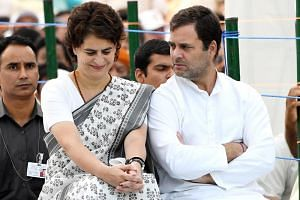 The use of Congress leader Rahul Gandhi's sister Priyanka on the campaign trail did not galvanise votes as expected.