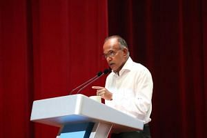 Law and Home Affairs Minister K. Shanmugam said that one key challenge that Singapore faces currently is the increasing number of countries calling for alternative drug policies.