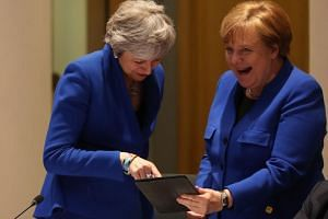 "Chancellor Angela Merkel said that she ""of course respects the decision"" of British Prime Minister Theresa May, adding that they had always worked well together."