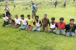 "The Myanmar military said these 10 men and boys rounded up and later killed in a 2017 crackdown in Rakhine state were ""terrorists""; their family members said they were farmers, students and an Islamic teacher. Seven soldiers jailed last year for the"