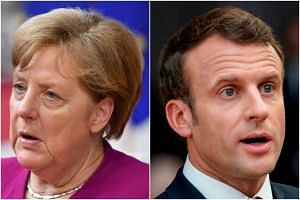 While Chancellor Angela Merkel's centre-right alliance might have won the most seats in the continent-wide ballot, President Emmanuel Macron pointedly did not mention support for Manfred Weber, the official German candidate.
