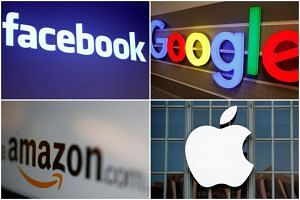 The tax policy, targeting firms like Google, Apple, Facebook and Amazon, would