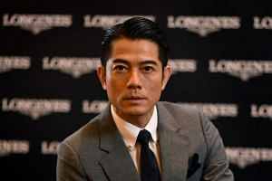 Aaron Kwok added that he is not pining for a son and that he already feels blessed to have two daughters.