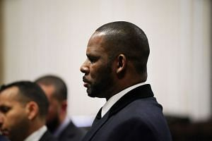 R. Kelly appears at a hearing in Chicago on May 7, 2019.