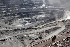 The Bayan Obo mine, which contains rare earth minerals, in Inner Mongolia, China. Beijing has prepared the steps it will take to use its stranglehold on the critical minerals to hurt the US economy, according to people familiar with the matter. PHOTO