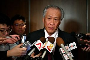 Defence Minister Ng Eng Hen said Singapore is too small to be a mediator.