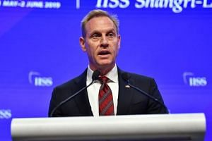 Acting US Defence Secretary Patrick Shanahan called on Asian allies to increase their security spending, while emphasising the United States' commitment to the region.