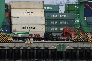 As a result of an intensifying trade war, the United States began collecting 25 per cent tariffs on many Chinese goods arriving in its seaports on June 1, 2019.