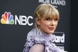 Swift (above) shared the letter with over 270 million followers across her social media platforms.