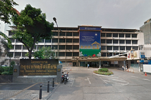 The affected individuals were diagnosed with chikungunya fever at Bangkok Christian Hospital.